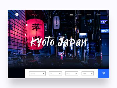 Web Design For Online Ticket Booking ticket booking japan webdesign uiux ui