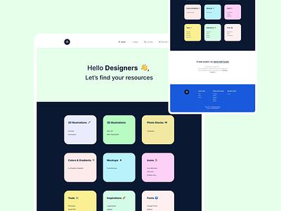 Latar - A Site to Speed Up Designer's Work webflow web development typography uiux ui design webdesign we ui