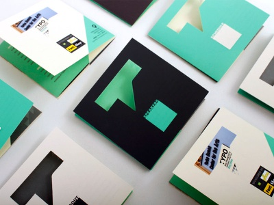 RHYTHM: Typo San Francisco die cut graphic design brochure poster advertisement ad campaign annual report uiux