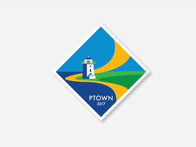 MATE | PTOWN 2017 shirt button mate inspired stamp post badge 2017 provincetown ptown