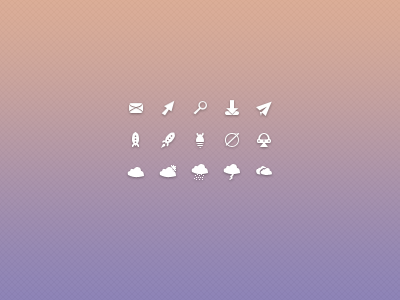 Awesome Icons #2 icon icons vector vectorial 16px mail download rocket flying saucer cloud clouds sun planets bomb bombs pattern background 1616 16x16 pixels perfect free freebie psd