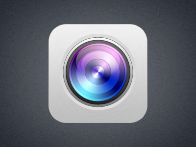 Lens lens icons os ui icon camera colors radial