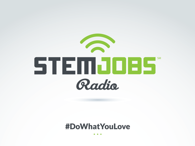 STEM Jobs Radio Podcast Logo