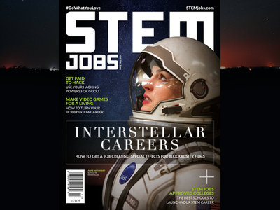 STEM Jobs Late Fall 2014 Issue Cover