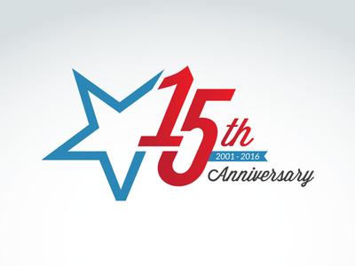 Victory Media 15th Anniversary Logo