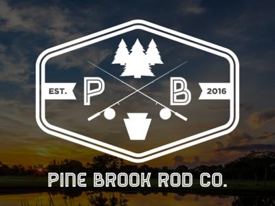 Pine Brook Rod Co. Logo