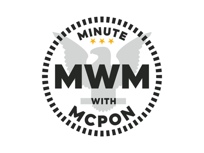 Minute with MCPON Emblem