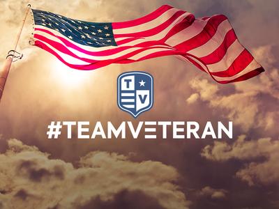 #TeamVeteran Logo