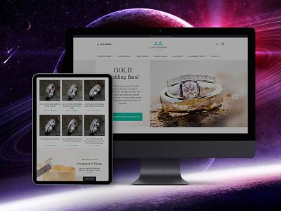 E-commerce Design LA LASER ENGRAVING jewelry shop jewelry jewelers ecommerce ecommerce design web website design website web design webdesign design