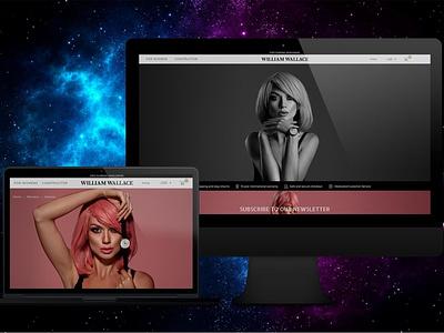 WILLIAM WALLACE online store online shop ecommerce ecommerce design web website design website web design webdesign design