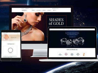 IVANOV online store jewelry jewelry shop ecommerce design ecommerce web website design website web design webdesign design
