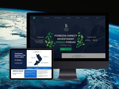 FDI GREEN FORUM forum web website design website web design webdesign design