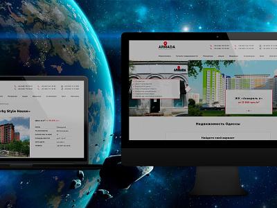 ARMADA laravel web service real estate portal web website design website web design webdesign design