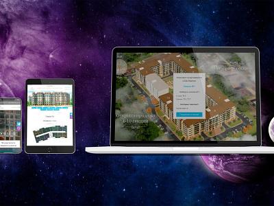 CLUB MARINE real estate web website design website web design webdesign design