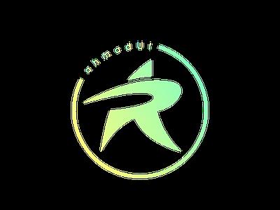 A.R Logomark logomark mark ilustrator logo