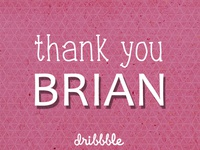 Thank You, Brian Anderson