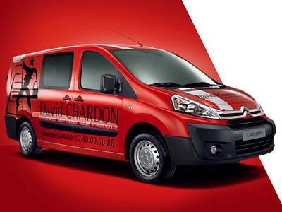 David Chardon car branding logo