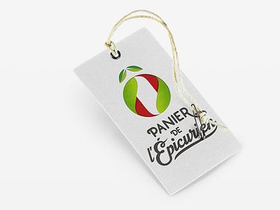 o panier de epicurien logo vegetable
