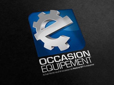 Occasion equipement logo logo construction