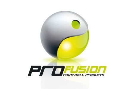 Porfusion logo propostion 1 logo paintball