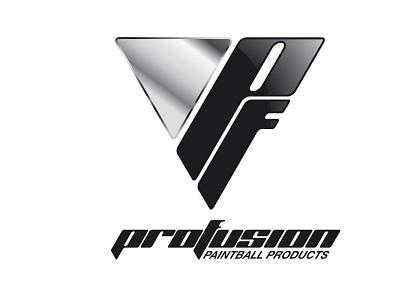 Porfusion logo propostion 2 logo paintball