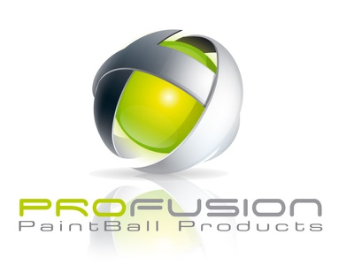 Porfusion logo propostion 3 logo paintball