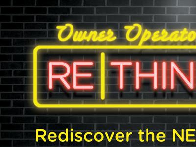ReThink - Concept 4 neon glow brick print
