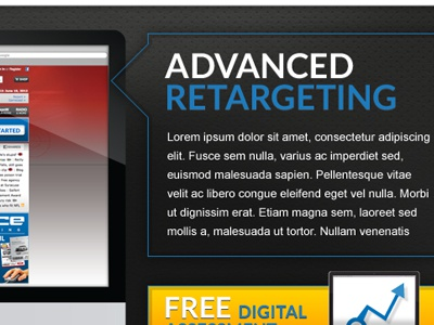 Current Teaser lato web design call-outs slider texture shine