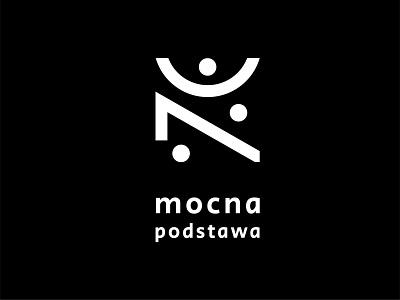 Mocna postawa fizjoterapia modern modern logo identity design identity branding logodesign logo minimalist logo visual identity design branding identity vector