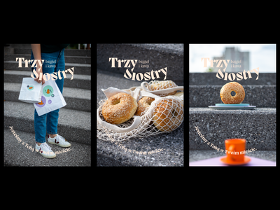 Trzy Siostry key visual visual identity logo typography poster design poster identity branding