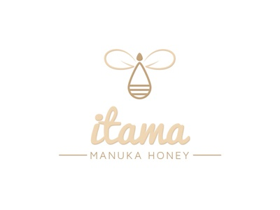 itama honey honey bee branding logo
