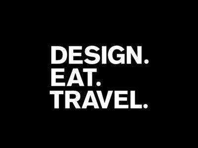 Design.Eat.Travel Logo