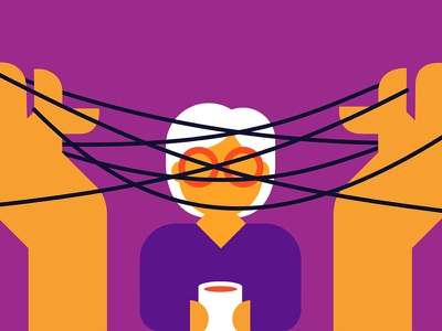 Curing Alzheimers knot cats cradle elderly dementia alzheimers