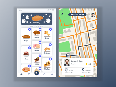 Food Delivery -Mobile App delivery app mobile design design app design mobile application mobile ui mobile app design mobile app app ux ui
