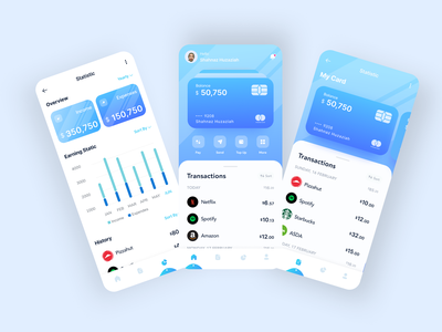 Wallo App - Finance App 😁 logo branding illustration mobile app ui mobile finance mobile app mobile design ui agency website ux agency design
