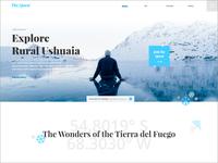Ushuaia Landing Page