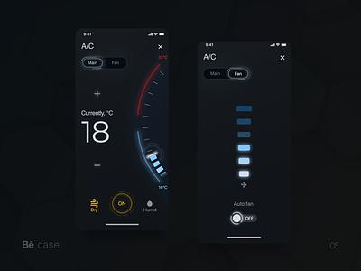 Smart Home innovation ux ui smarthome smarthouse mobile iot ios cyberpunk futuristic