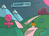 Welcome to Dribbble Town