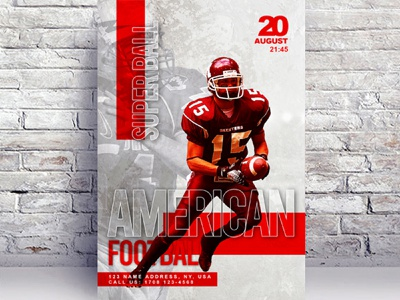 American Football Free Flyer Template event flyer design template psd template flyer template free psd flyer free flyer template flyer psd free flyer free flyer download flyer american football american