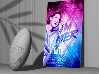 Summer Party Multicolor Free Flyer Template template flyer template summer poster summer party summer flyer summer multicolor free psd flyer free flyer template flyer psd free flyer free flyer download flyer exotic summer flyer exotic event flyer