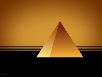 pyramid art animation adobe after effects 2d animation