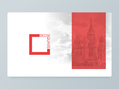 red square redsquare moscow red brand logotype logo branding