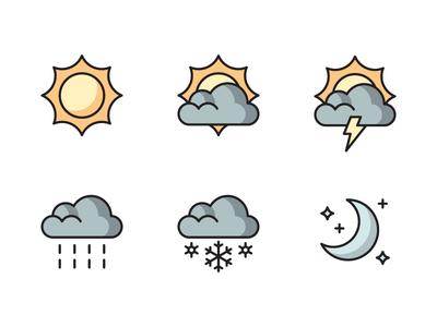 Star Tribune Weather Icons
