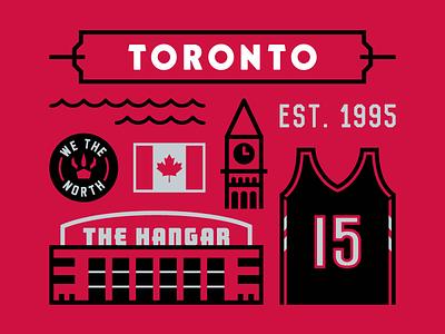 Toronto Poster nba basketball drake we the north vince carter raptors toronto