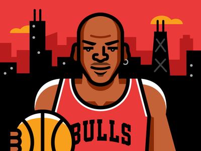 MJ vector nba illustration air jordan chicago bulls michael jordan