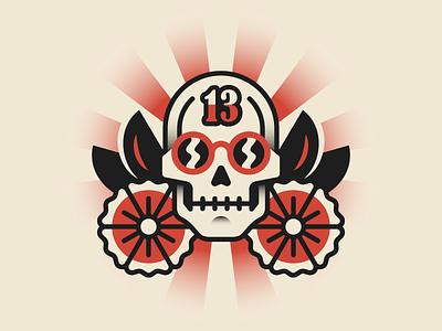Permanent Records permanent records vector illustration skull tattoo