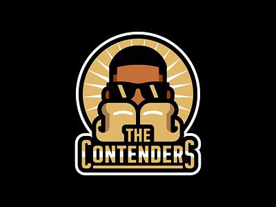 The Contenders badge vector award season award oscars boxing contender the undefeated