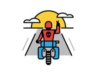 Motorcycle Dude