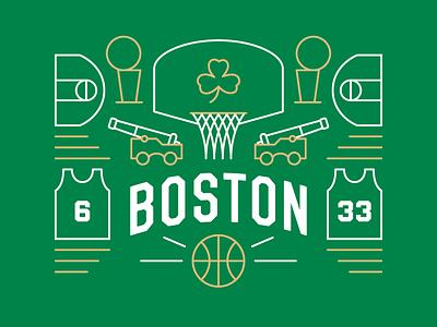Boston Basketball bill russell larry bird st. patricks day irish basketball nba celtics boston