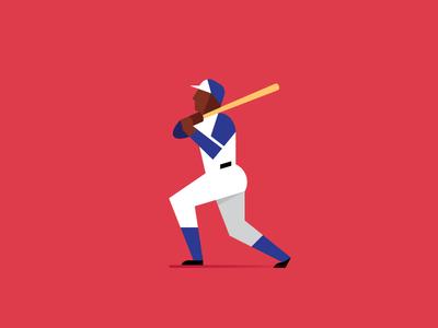 The Hammer sports vector mlb baseball atlanta braves home run hank aaron hammer